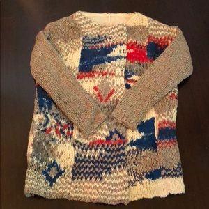 Free People sweater coat